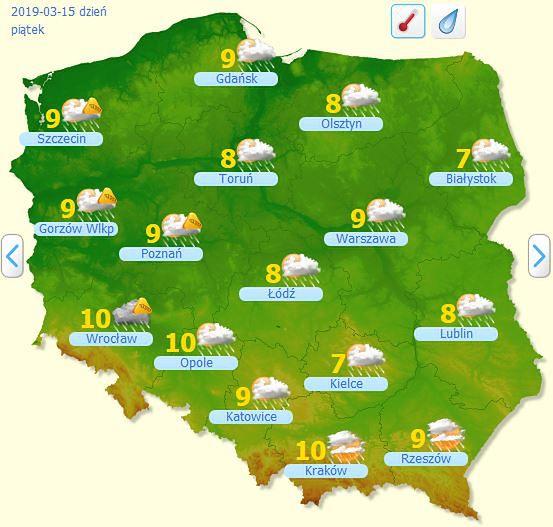 Prognoza Pogody Zaleje Nas Fala Ciepla Potem Tylko Deszcz I