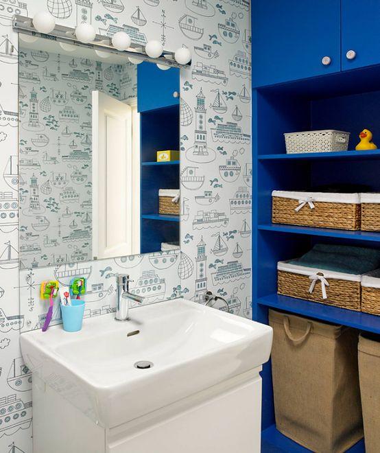 Wakacyjny Lifting łazienki Styl Marynistyczny Wp Dom
