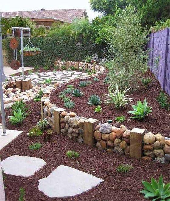 Efektowna Dekoracja Ogrodu Z Kamieni Wp Dom