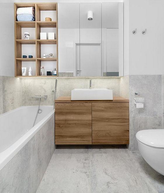 Modna Mała łazienka Funkcjonalnie I Z Klasą Wp Dom