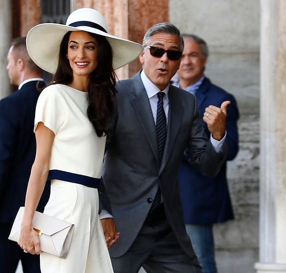 George Clooney I Amal Alamuddin Wzięli ślub Cywilny Wp Gwiazdy