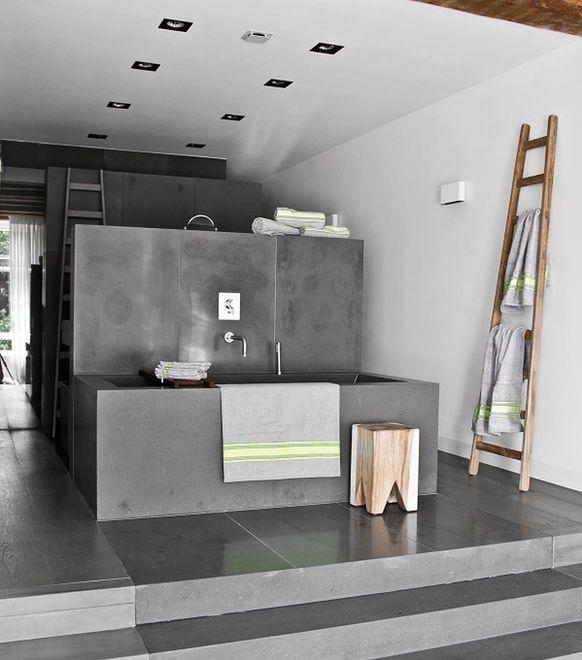 Zamiast Płytek Ceramicznych Czyli łazienka W Betonie Wp Dom
