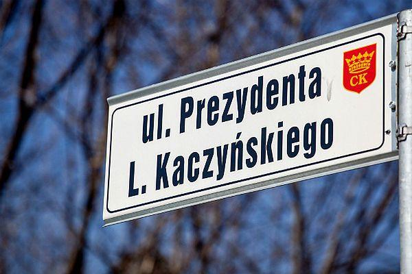 Znalezione obrazy dla zapytania ul. lecha kaczyńskiego