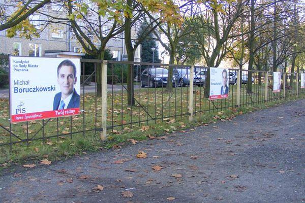 Plakaty Kandydata Pis Zalały Piątkowo Czy To Zgodne Z