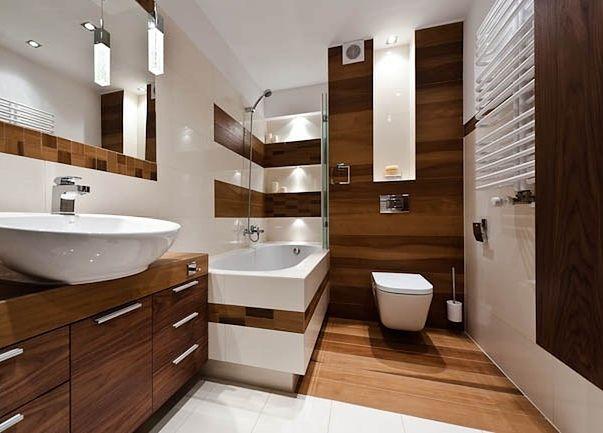 Aranżacja łazienki W Drewnie Wp Dom