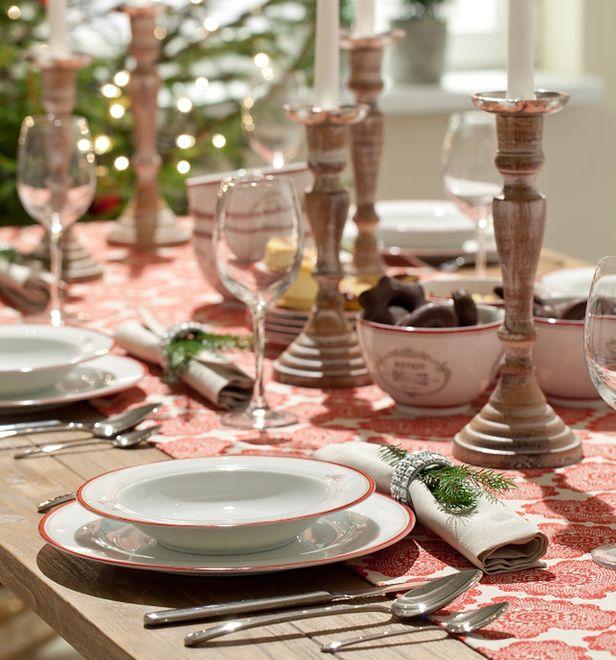 Dekoracje świąteczne Stół Wigilijny Wp Dom