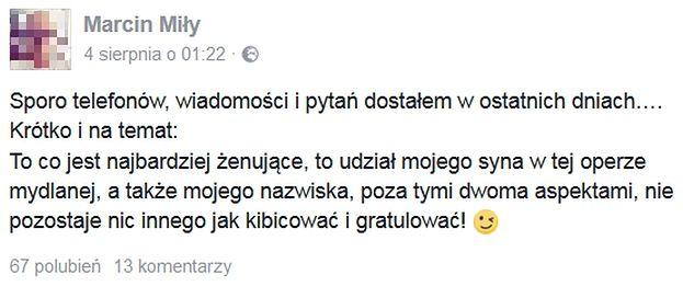 Mąż Nowej Dziewczyny Durczoka Komentuje Ich Związek
