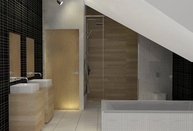 Jak Urządzić Nowoczesną łazienkę Na Poddaszu Aranżacje