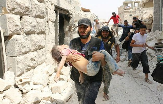 Znalezione obrazy dla zapytania wojna w syrii - zdjęcia