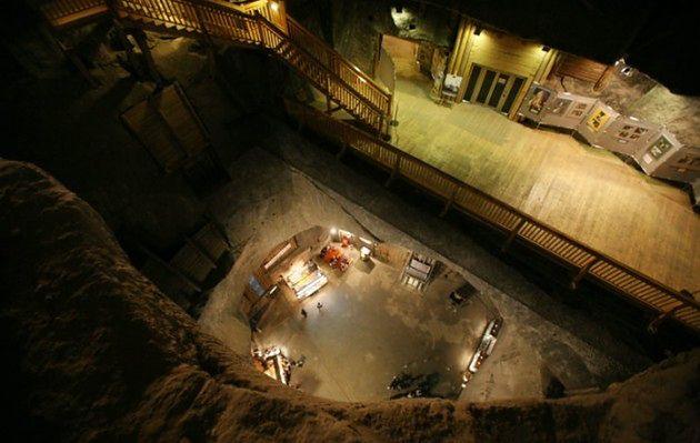 Cud w kopalni