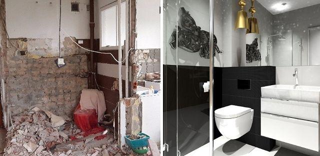 łazienka Na Nowo 3 Kolosalne Metamorfozy Wp Dom