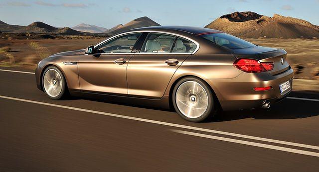 Modne ubrania BMW serii 6 Gran Coupe: sportowa limuzyna - WP Moto OD43