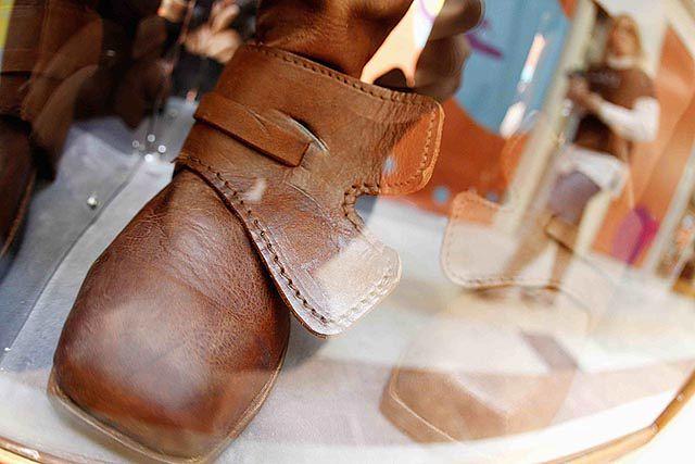 buty męskie noszone w xix wieku