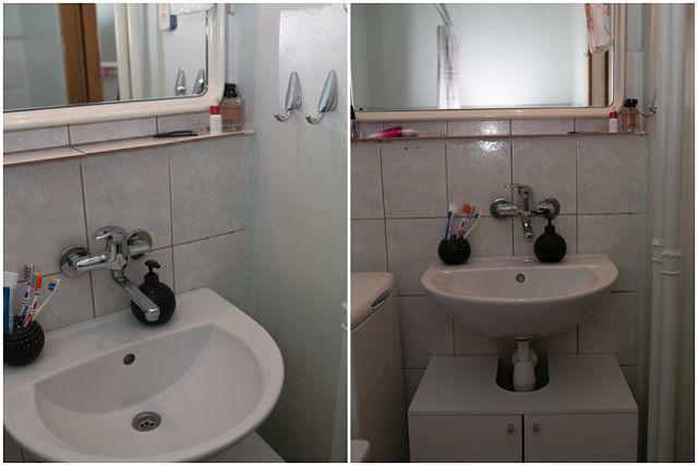 Remont łazienki Za 450 Złotych Weekendowa Metamorfoza Wp Dom