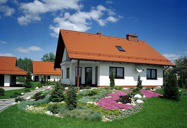 Biała Elewacja Domu Zawsze Na Czasie Zdjęcia Domów Wp Dom