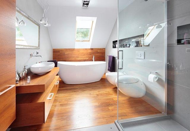 Drewno W łazience Aranżacja łazienki W Drewnie Wp Dom