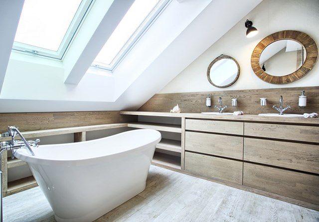 łazienka Pod Skosami Pomyśl O Komforcie Kąpieli Wp Dom