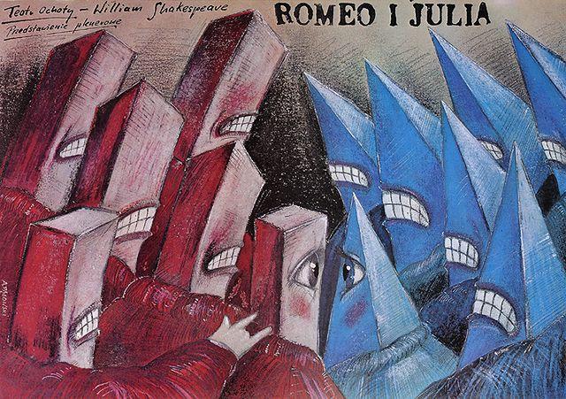 Romeo I Julia Najlepsze Plakaty Andrzeja Pągowskiego Wp