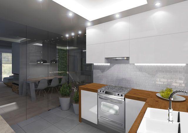 Kuchnia Bez Okna Iluzje Ciemna Kuchnia Aranżacja