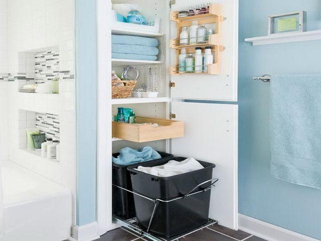 Projekt łazienki Z Miejscem Na Przechowywanie Praktyczne