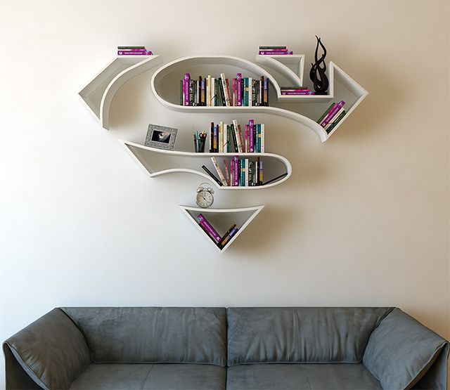 Pomysłowe Półki Na Książki Nie Tylko Dla Superbohaterów