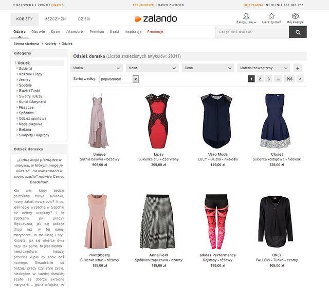 b4cb17a7d166 1. Zalando.pl - Już 6 milionów Polaków kupuje odzież w internecie ...