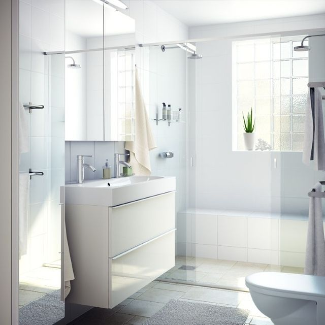 Cała W Bieli Biała łazienka Aranżacje I Projekty Wp Dom