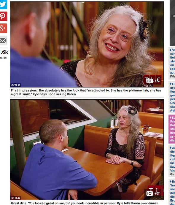 31-letnia randka z 91-letnią kobietą