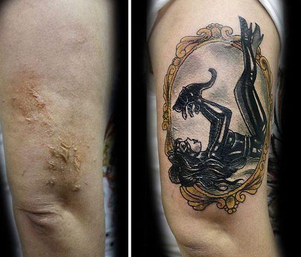 Artystka Zamienia Blizny W Tatuaże Wp Kobieta