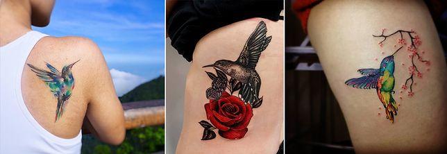 Tatuaż Koliber Najmodniejszy Wzór Tatuażu W Tym Sezonie