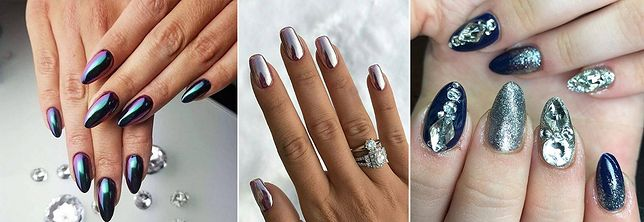 Modne Paznokcie Na Sylwestra Najlepsze Propozycje Manicure