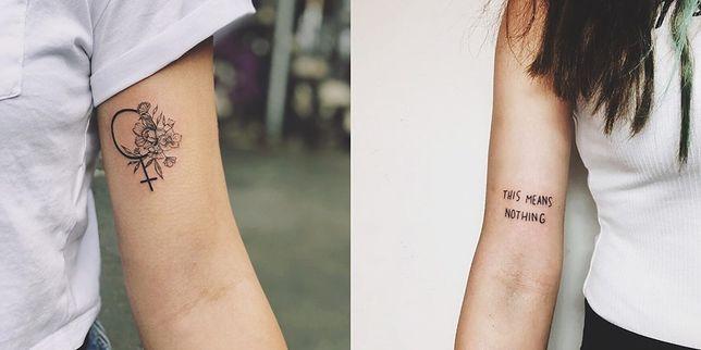 Tatuaże Damskie Najpiękniejsze Wzory Miejsca Idealne Na