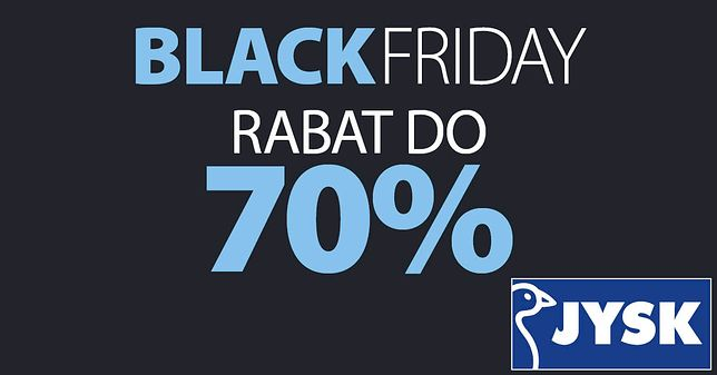 Black Friday Jysk Black Red White Agata Wyprzedaże I