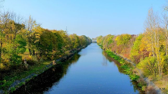 Kanał Bydgoski to najstarszy polski kanał