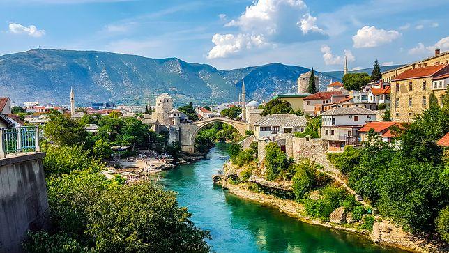 Strażnik mostu nad Neretwą - Mostar