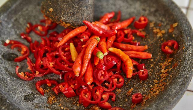 Papryczka Chili Ostra Papryczka I Inne Rozgrzewające