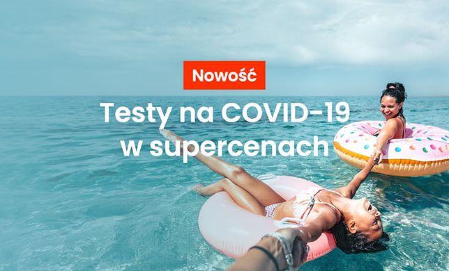 Testy na COVID-19 - specjalna oferta dla klientów Wakacje.pl