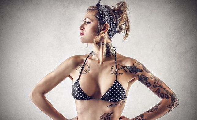 Piercing I Tatuaż Ozdoby Ciała Ale Czy Dla Ciebie Wp
