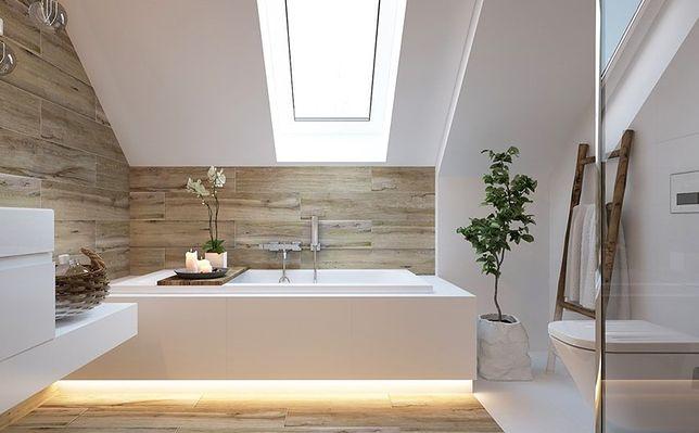 Oświetlenie Led Pod Wanną Przytulna łazienka W Zasięgu Ręki