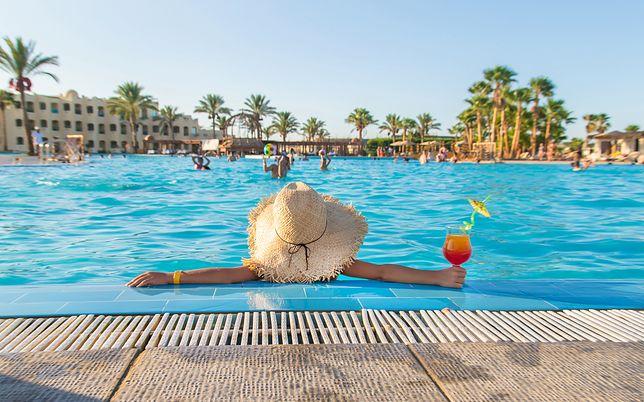 Basen z palmami, Turcja