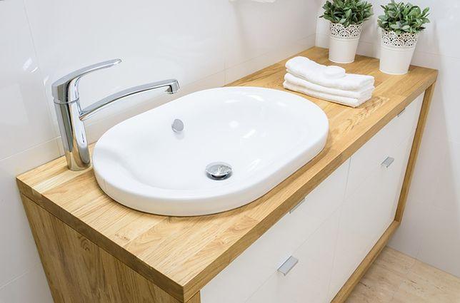 Aranżacja łazienki W Praktyce Umywalka Wpuszczana W Blat