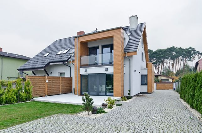 Dom Bliźniak Idealne Rozwiązanie Na Małą Działkę Wp Dom