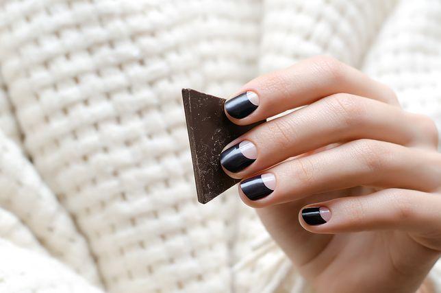 Czarne Paznokcie Propozycje Czarnego Manicure Wp Kobieta