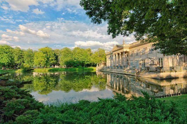 łazienki Królewskie W Warszawie Wp Turystyka