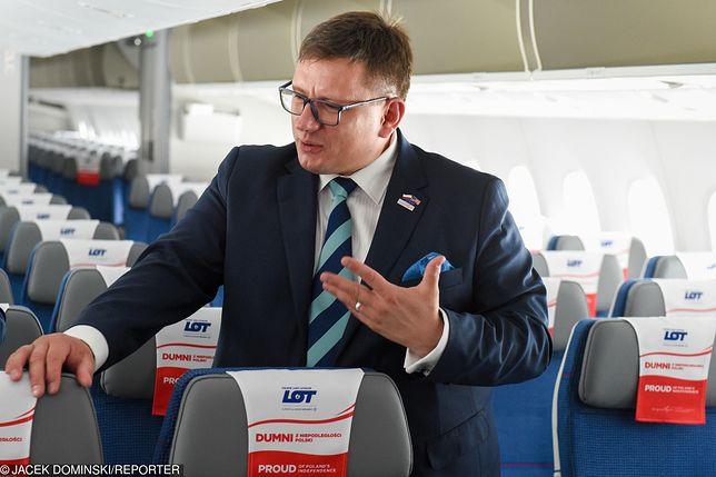 W LOT jestem na lata - mówi prezes spółki Rafał Milczarski