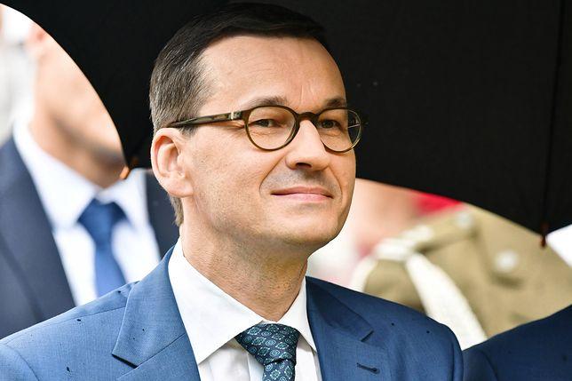 Płaca minimalna w górę. Na zdj. premier Mateusz Morawiecki.