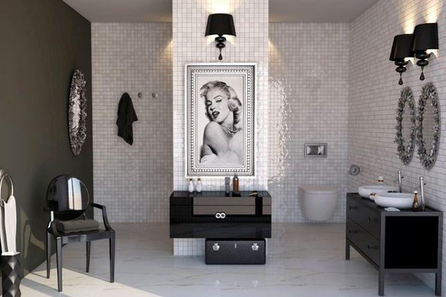 Aranżacja łazienki W Stylu Glamour Najważniejsze Zasady