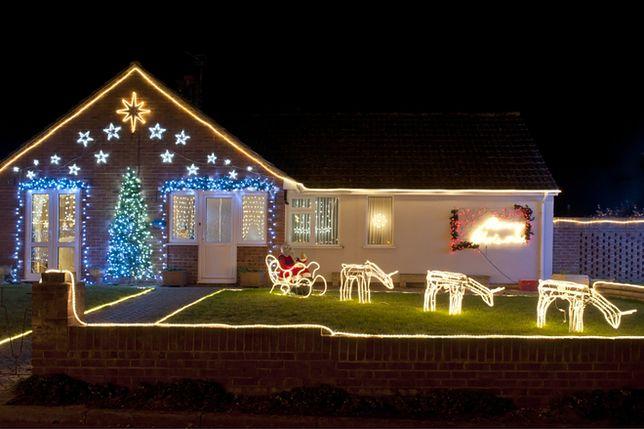 Wokół Domu Oświetlenie świąteczne Wp Dom