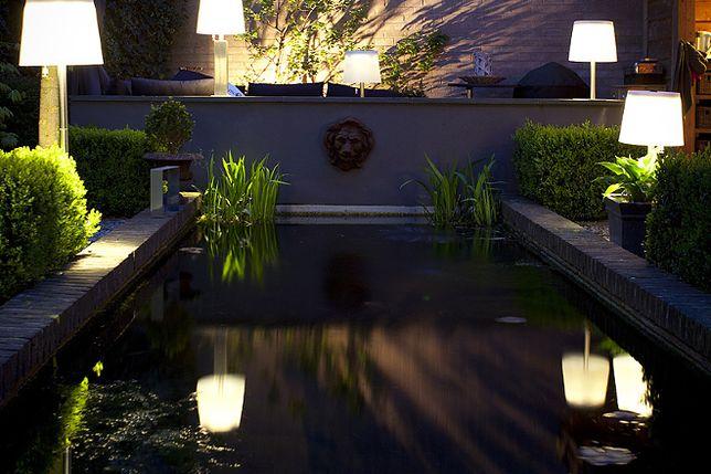 lampy ogrodowe kompozycje