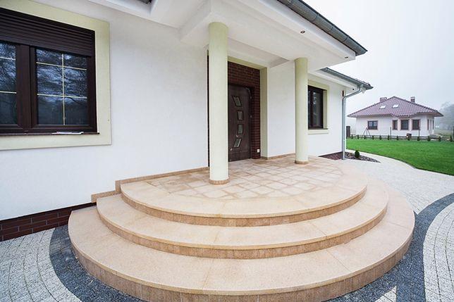 Masywnie Wygodne schody zewnętrzne – jak i z czego je wykonać? - WP Dom XQ07